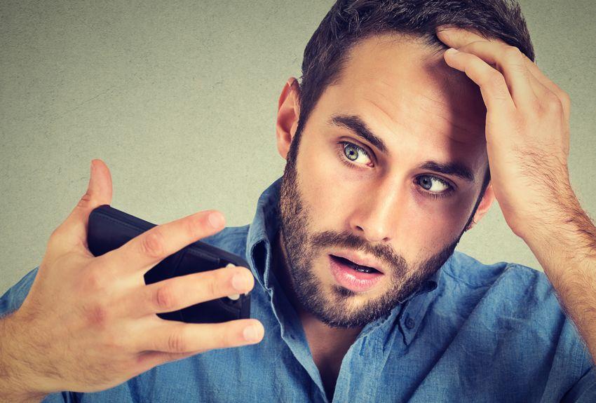 Geheimratsecken Mann Haarausfall Tipps