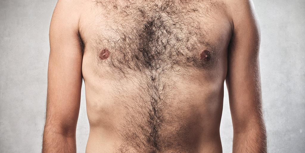 Rasierer für Brusthaare