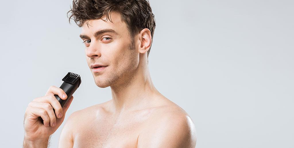 Rasierer für Intimbereich Mann elektrisch